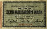 1923 10 billion marks