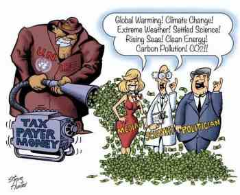 Global warming scam to destroy Russian Economy for NWO billionairres global hegemony