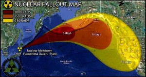 Fukushima Radiation Plume