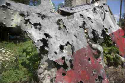 MH17 downed by Ukrainean fighter jet