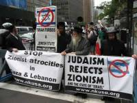 Orthodox Jews protest Zioniam