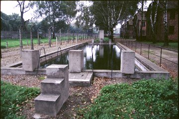 Swimming pool at Auschwitz