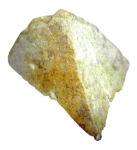 pyramid-shaped rock cur out by the Whirlwind